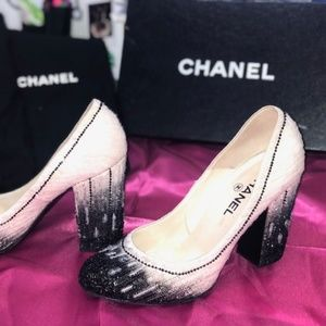 Vintage Chanel Sequence Pumps